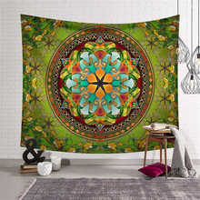 Indian Compass Mandala Print Large Tapestry Hippie Throw Rug Blanket Wall Hanging Bohemian Beach Yoga Mat Beach Towel Home Decor