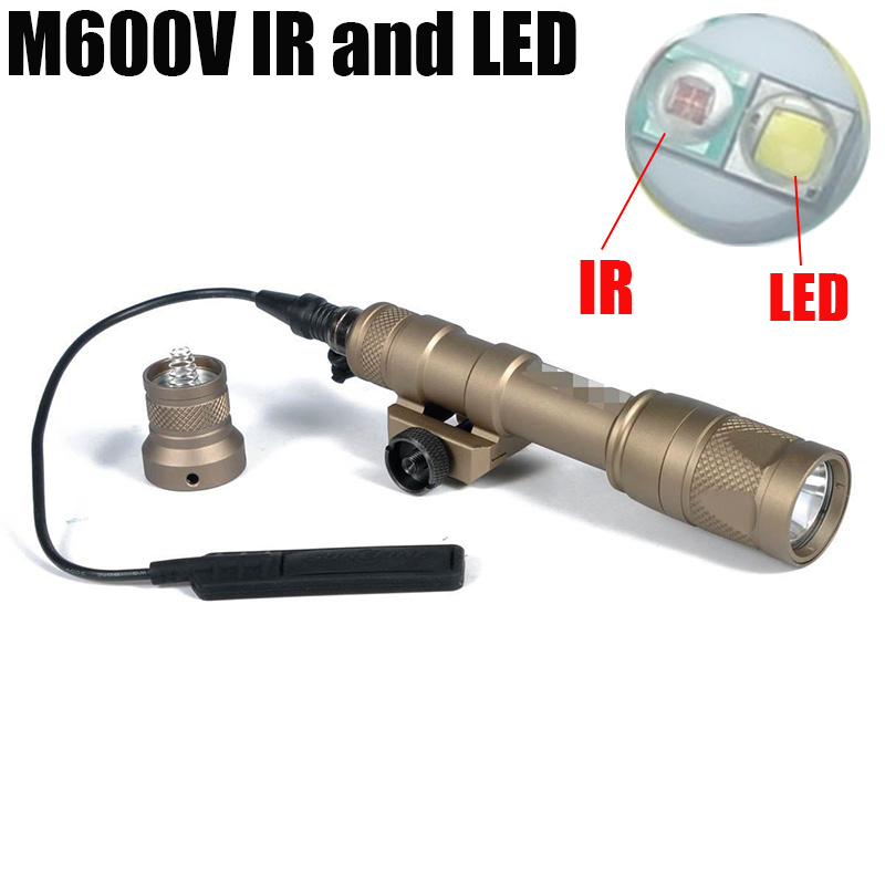 luzes lanterna lampada de caca tiro rifle 05