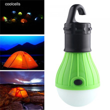 Portable 3 Modes Outdoor Hanging LED Camping Tent Light Bulb Fishing Lantern Lamp free shipping