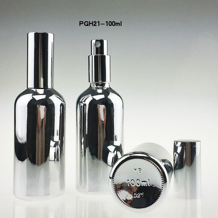 100pcs 100 ml sticlă de pulverizare de sticlă fină pentru parfum, - Instrumente pentru îngrijirea pielii - Fotografie 6