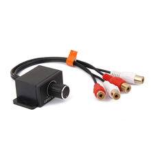 Аудио RCA линейный уровень сигнала усилитель пульт дистанционного управления контроллер регулятор усиления 2 * RCA вход на 2 * RCA выход