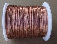 0.2x80 strands, 20m/pc, Litz wire, stranded enamelled copper wire / braided multi strand wire