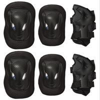 Roller Protection Of The Six Piece Rollers Of Roller Skate Rugby Skateboard Adult Men And Women's Combination Suits