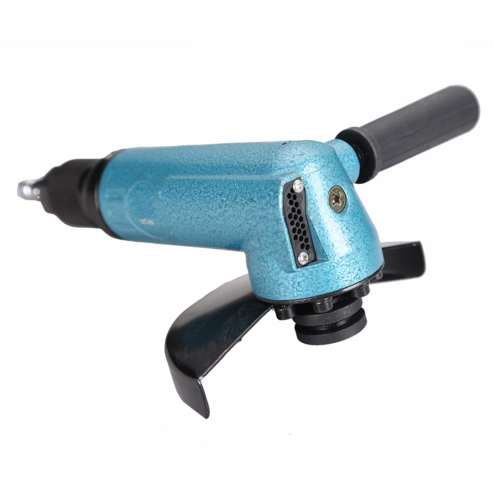 New Design GR-35 Heavy Duty 5'' Air Angle Grinder Industrial Pneumatic/Air Angle Grinder Tools Air Grinders Industrial Grinders mirco air grinder mag 122n 35 000rpm collet size 20mm 0 6mpa 140g