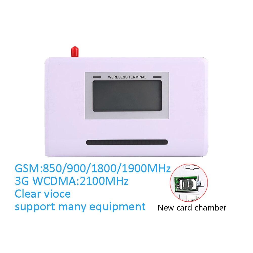 (1 Unidades) 3G WCDMA 2100 MHz FWT Fijó el Terminal GSM 800/850/1800/1900 Banda Cuádruple SIM Inalámbrica Intercambio de tarjetas soporte IMEI Puede Editar