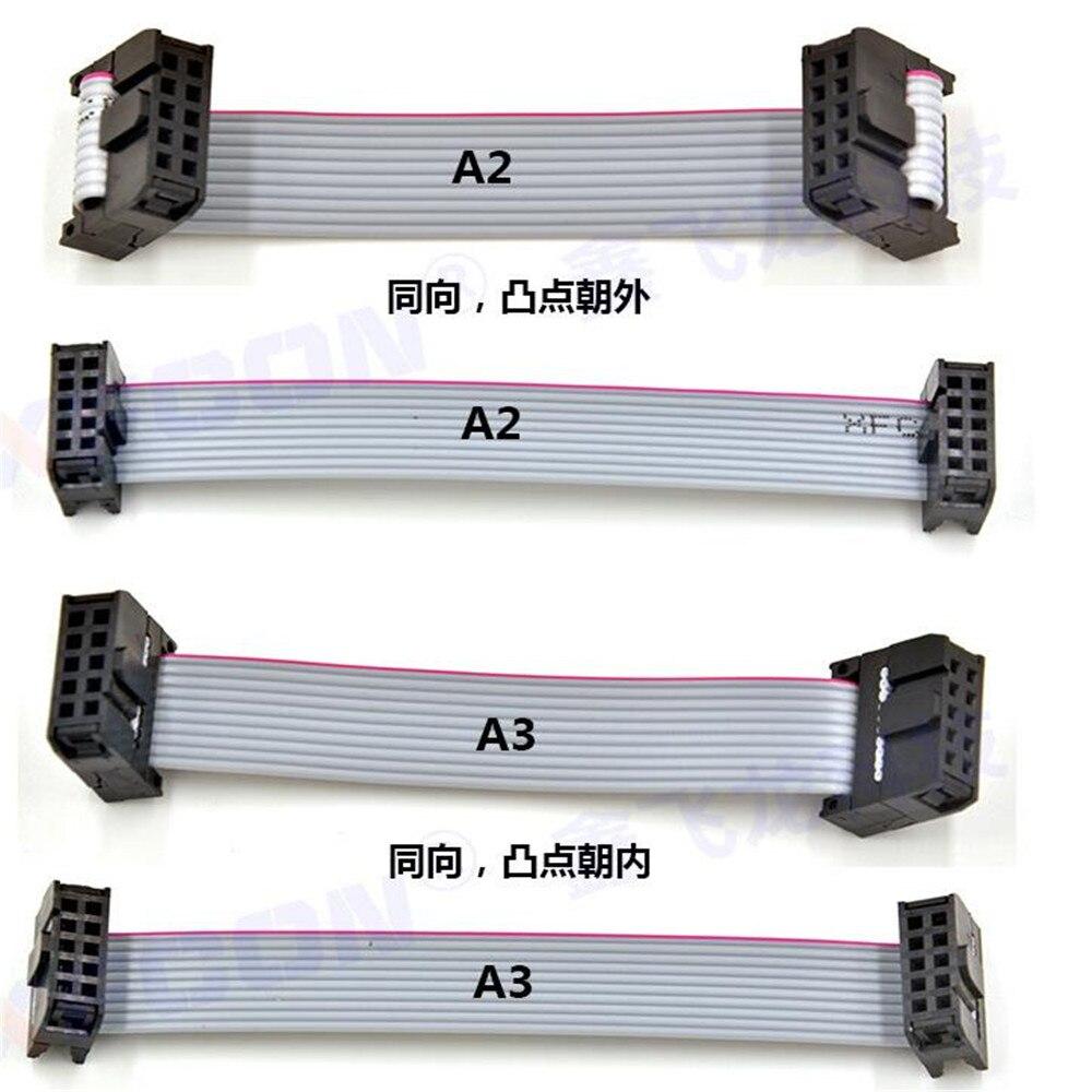 2018051502 xiangli mm 6 Position 8 Broches Femelle IDC Prise IDC Connecteur 12 couleurs 95