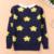 Niño grande hembra suéter de cobertura suéter de la capa gruesa 2016 nuevo invierno de los niños ropa de los niños que basa la camisa suéter