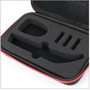 Image 5 - Draagbare Case voor Philips OneBlade Pro Trimmer Scheerapparaat Accessoires EVA Reistas Opslag Pack Box Cover Zipper Pouch met Voering