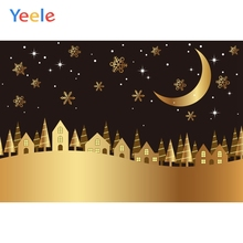 Yeele Wallpaper Photocall Moon Star Forest Castle Photography Backdrop Personalized Photographic Backgrounds For Photo Studio