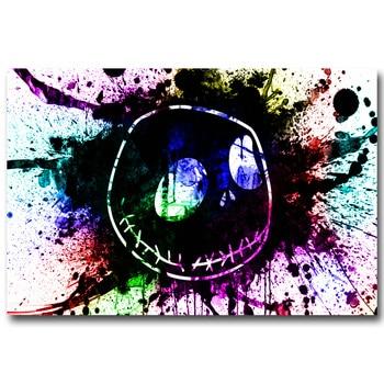 Плакат Гобелен Шелковый Джек повелитель хэллоуина вариант 3
