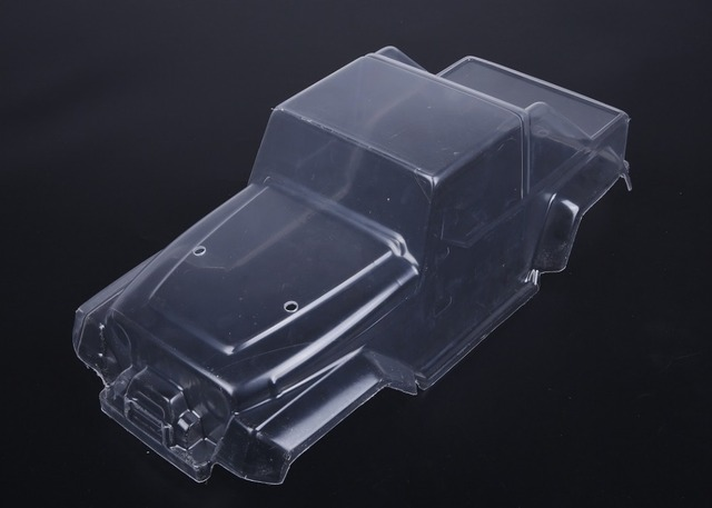 US $32 0 |1/8 Rovan RC MONSTER BRUSHLESS TRUCK PARTS Clear PC body shell  (Jeep truck) 3120712-in Parts & Accessories from Toys & Hobbies on