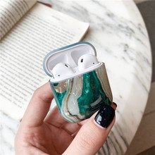 Silicone Airpods Case  – Luxury Marble