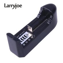 Larryjoe cargador de batería Universal 18650, superventas, para 3,7 V, 18650, 16340, 14500, Li ion, alta calidad