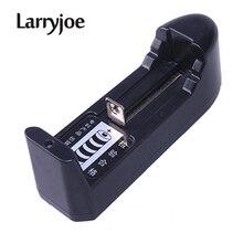 Larryjoeホット販売eu/米国ユニバーサル18650バッテリー充電器3.7v 18650 16340 14500リチウムイオン充電式バッテリー高品質
