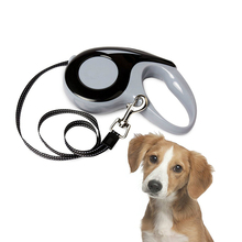 3M 5M Pet Dog Automatic Retractable Leash Adjustable Easy Gripping Pulling Lead For Walking Running Puppy Collar Harness