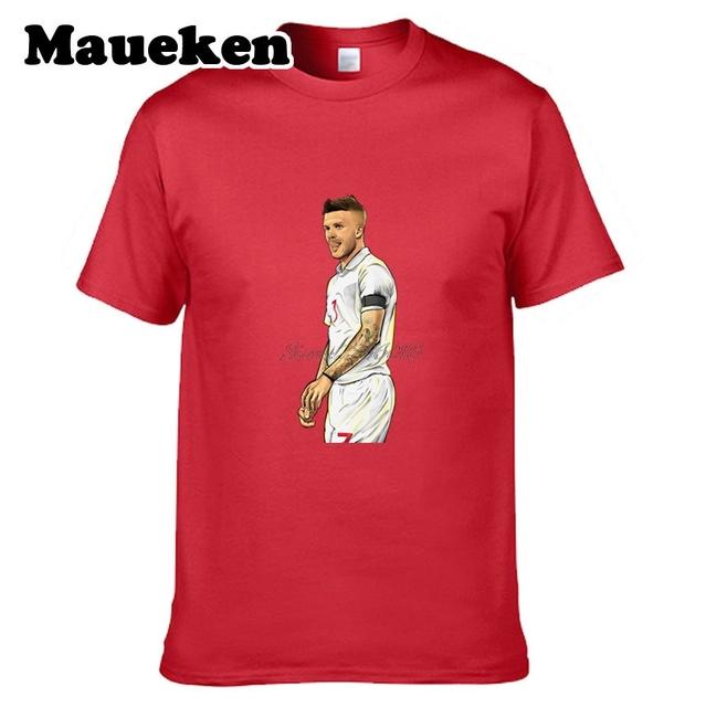David Beckham #7 Legend Captain Men T-shirt Clothes Short Sleeve T SHIRT Men's Fashion heartthrob W0223031