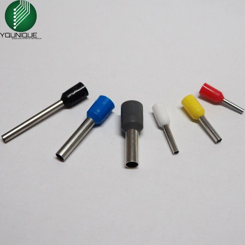 500 PK Ferrule Terminal Cord Pin End Terminal Wire Copper Insulated ...