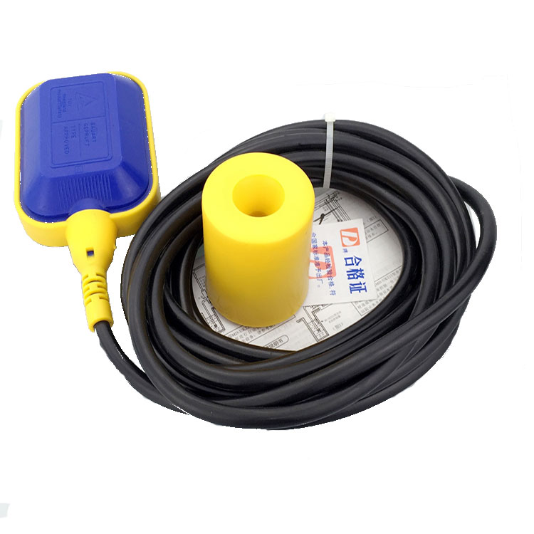 KEY cable type float switch 4M 16A water level switch automatic pump control 4a 8a level float switch pp water level control for water pump water tower tank normally closed