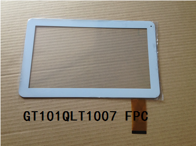 New original 10.1 inch GT101QLT1007 FPC tablet capacitive touch screen white  free shipping