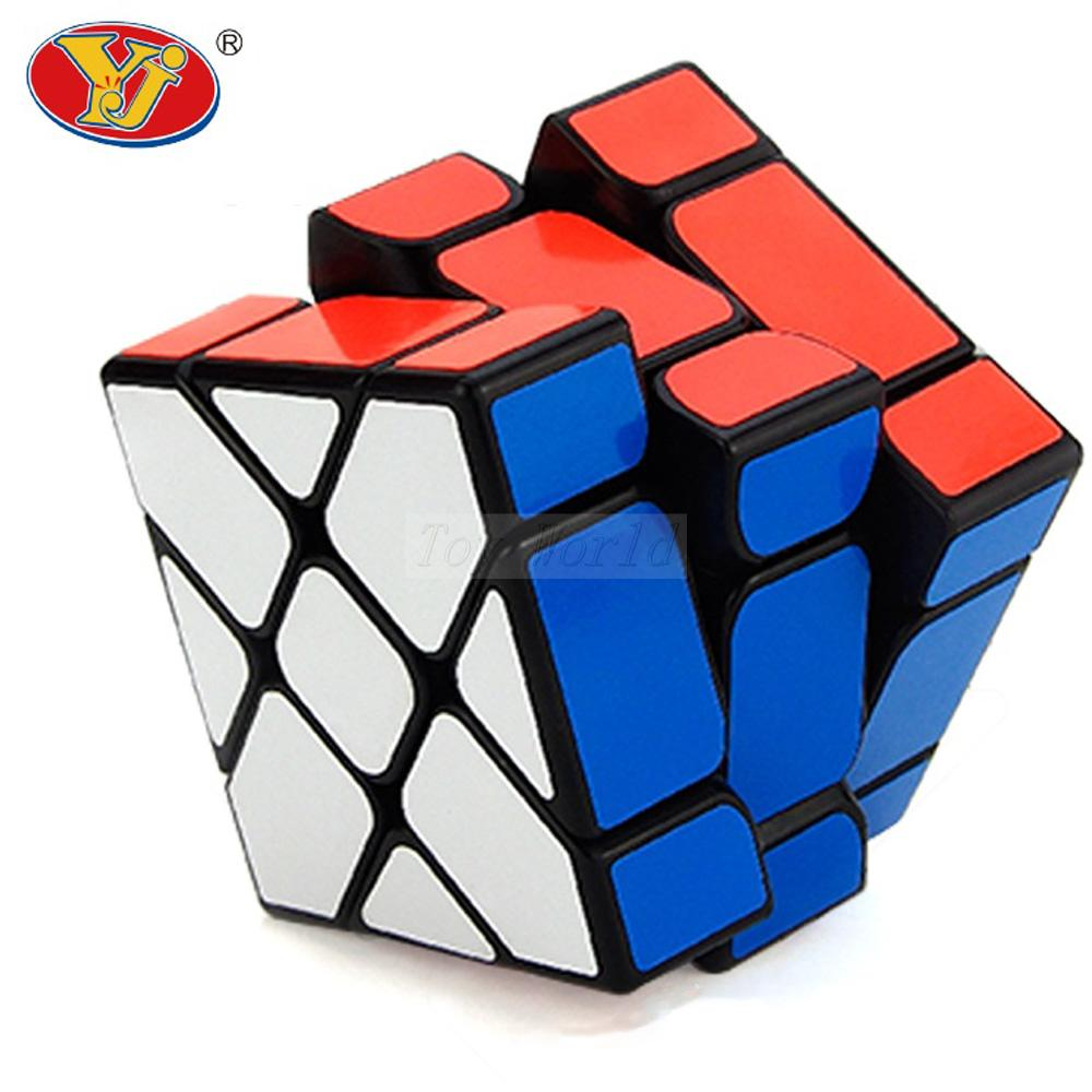 YJ YiLeng Cubo magic Fisher Cube 3x3x3 Speed Professional cube Wholesale Cubo Magico Metallised Juguetes Educativo game Toys yj guanlong speed third order magic cube toy