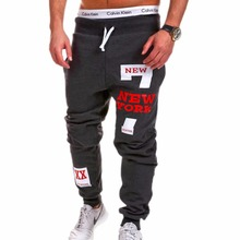 Mens Joggers 2019 Brand Male Trousers Men Pants Casual Sweatpants Jogger Black Large Size 4XL