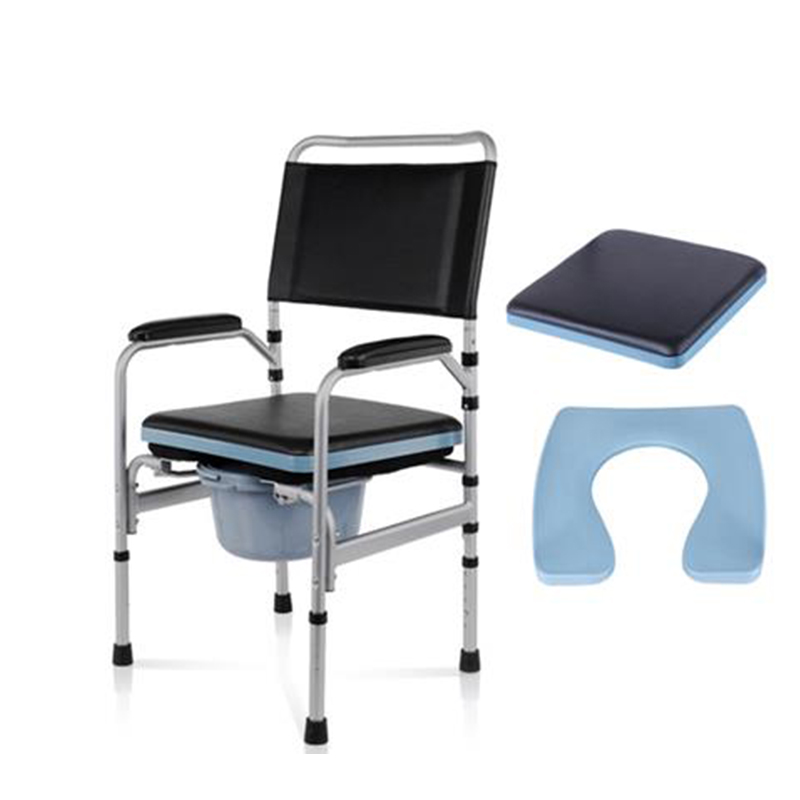 Fabulous Bedside Commode Chair Shower Chair For Senior Adults Handicap Elderly Adjustable Height Folding Medical Toilet Chair Stool Evergreenethics Interior Chair Design Evergreenethicsorg