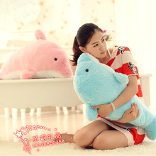 new cute plush dolphin toy stuffed dolphin doll gift about 100cm 297