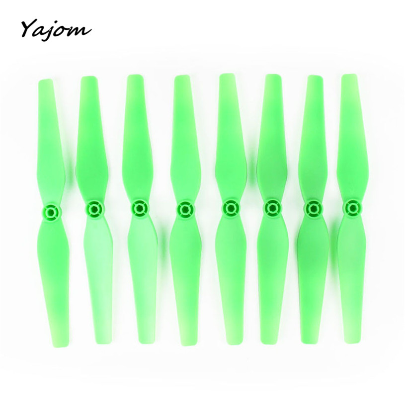 2017 New Hot Sale 8Pcs Fluorescence Propellers Blades for Syma X8C X8W X8G X8HC X8HW RC Quadcopter Brand New High Quality Mar 30