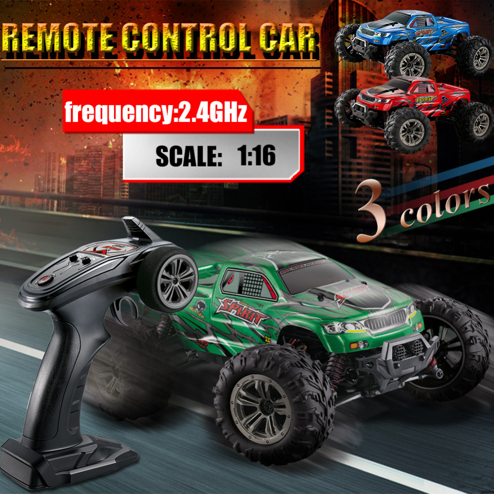 New 9135 2.4G 1:16 High-speed RC Car Four-wheel Drive Full-scale Remote Control Car Model (Built-in Batteries) Wholesale jin ruiguang cut pieces of high speed resin cutting wheel 105 1 16 dual wholesale