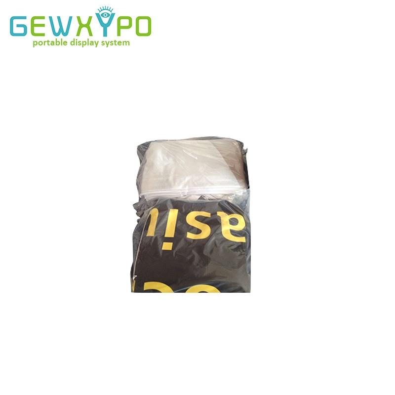 Taille personnalisée pour toile de fond d'affichage de tissu de Tension ou bannière imprimée