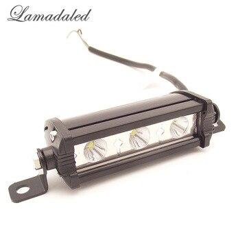 Lamadaled veículo 9 w conduziu o trabalho barra de luz ATV off road 4 polegada Offroad spot para lâmpada 4x4 SUV Truck Car Trailer Trator UTV