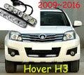 Great Wall Hover H3 Идея витиеватой дневной свет, LED, Свободный корабль! 2 шт./компл. + провода, Наведите H3 Идея витиеватой противотуманные фары, Hover H3 Идея витиеватой