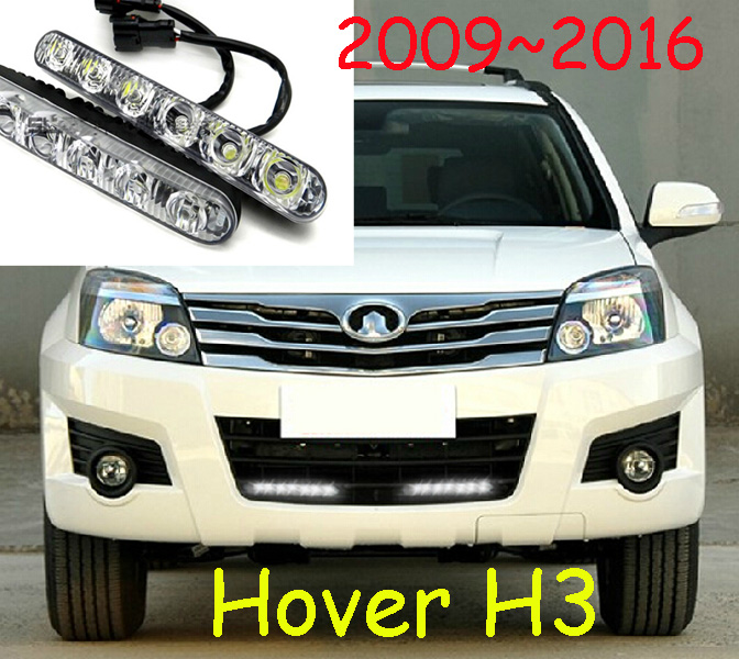 цены Great Wall Hover H3 Idea florid daytime light,LED,Free ship!2pcs/set+wire,Hover H3 Idea florid fog light,Hover H3 Idea florid