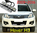 Great Wall Hover H3 Idea florid daytime light,LED,Free ship!2pcs/set+wire,Hover H3 Idea florid fog light,Hover H3 Idea florid