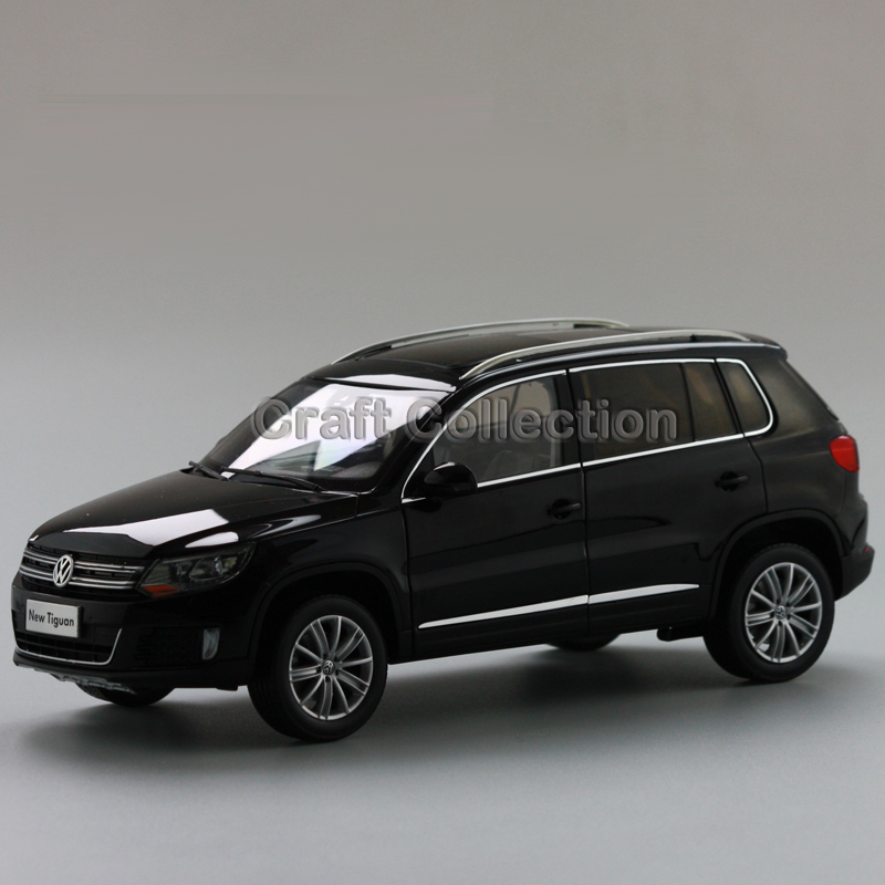 *Black 1:18 Volkswagen VW Tiguan 2013 Diecast Model Car Classical SUV Collection Off Road Vehicle car rear trunk security shield cargo cover for volkswagen vw tiguan 2016 2017 2018 high qualit black beige auto accessories