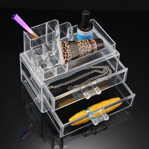 NHBR kozmetikai szervező világos akril smink szervező birtokosa - Szervezés és tárolás