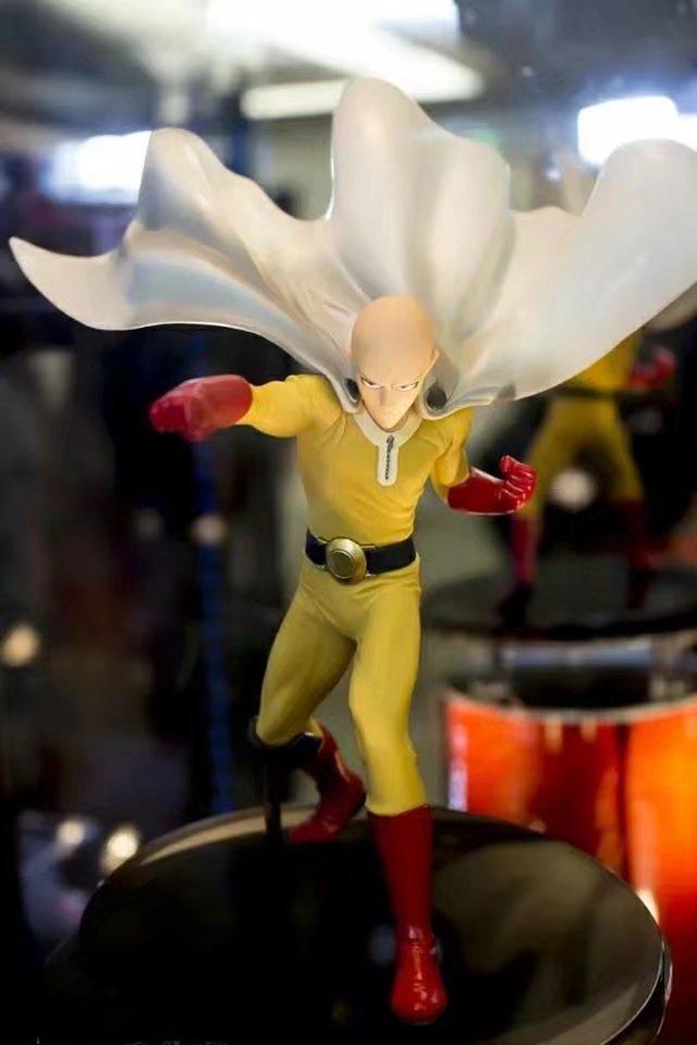 DXF One Punch Man Figure Saitama Sensei 15cm Action Figures ONE PUNCH-MAN Kids Toy Model Doll