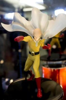DXF One Punch Man Figure Saitama Sensei 15cm Action Figures ONE PUNCH-MAN Kids Toy Model Doll