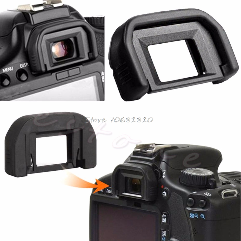 US $0 43 17% OFF|1Pc Eyecup Eye Cup Eyepiece Ef For Canon EOS Rebel XSi XTi  XT X T3 XS T3i T2i-in Camera Lens Hood from Consumer Electronics on