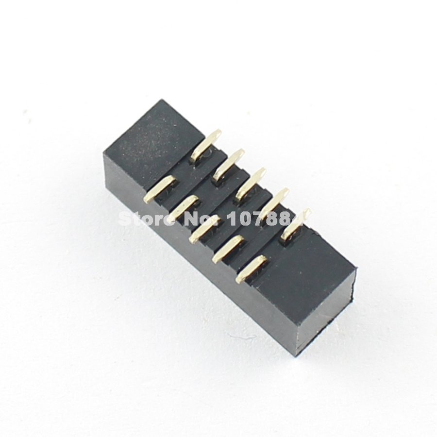 50pcs 2mm Pitch 2x5 Pin 10 Pin IDC FC Female Header Flat Cable Connector 2.0mm