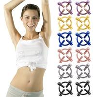 1Pcs Nipple Correction Round Non-Piercing Nipple Ring Shield Body Piercing Nickel-free Fake Piercing for Fashion Women