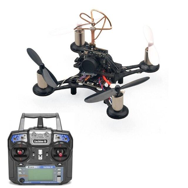 En stock! nueva llegada eachine qx90 tiny 90mm micro cepillado transmisor fpv quadcopter de carreras con eachine i6 rtf fpv drone