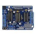 Eletrônica Do Carro Inteligente inteligente Stepper Controladores de Motor DC L293D Escudo de Expansão Placa de Desenvolvimento para Arduino DIY KIT Mega UNO
