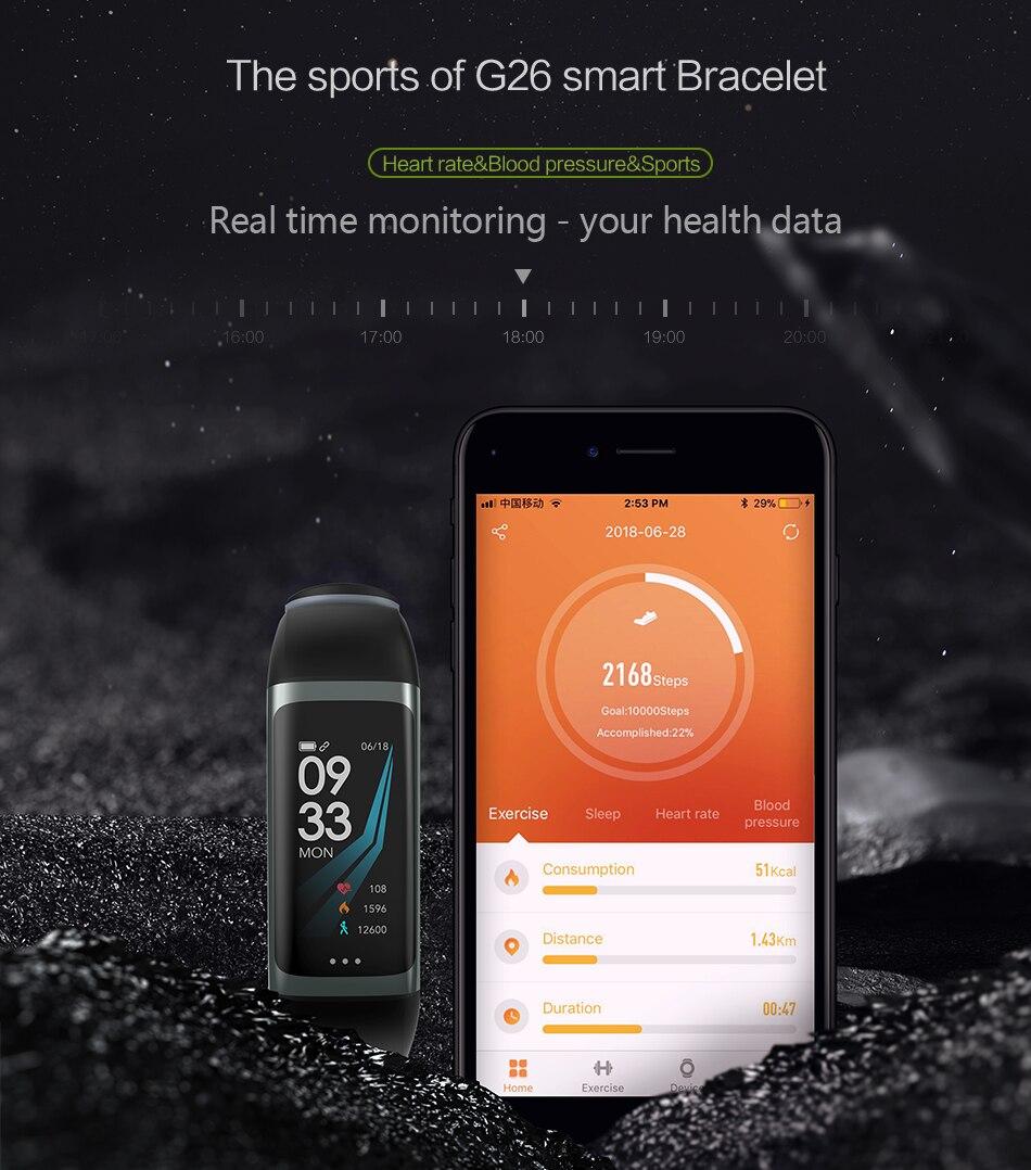G26 smart bracelet app for ipad | cornmi.com