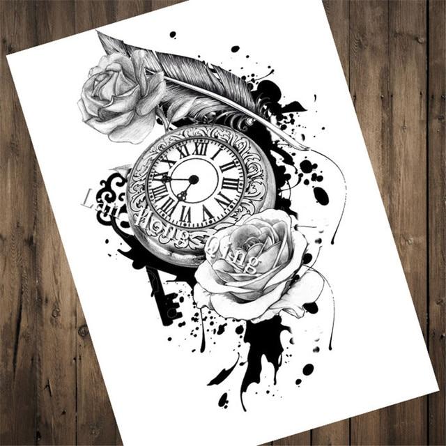 Tattoos for tattoo relogio antigo - Papel pared vintage ...