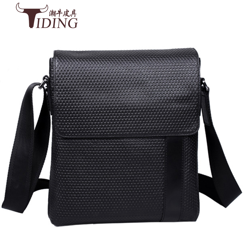 Men Messenger Bags Top Genuine Leather Designer Handbags 2017 High Quality Men's Bag Cowhide Man Shoulder Cross Body Bag Male high quality men genuine leather shoulder bag first layer cowhide cross body designer male satchel business messenger bags new