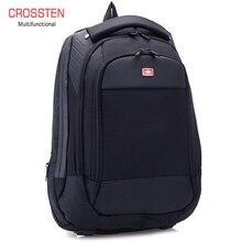 """Crossren متعددة الوظائف السويسرية حقائب 15 """"محمول على ظهره حقيبة مدرسية حقيبة الأمتعة مقاوم للماء حقيبة الظهر الحضرية حقيبة السفر A16"""
