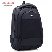 "Crossren Multifunctional Swiss กระเป๋า 15 ""กระเป๋าเป้สะพายหลังแล็ปท็อปกระเป๋าเดินทางกระเป๋ากันน้ำ Urban กระเป๋าเดินทาง Rucksack A16"