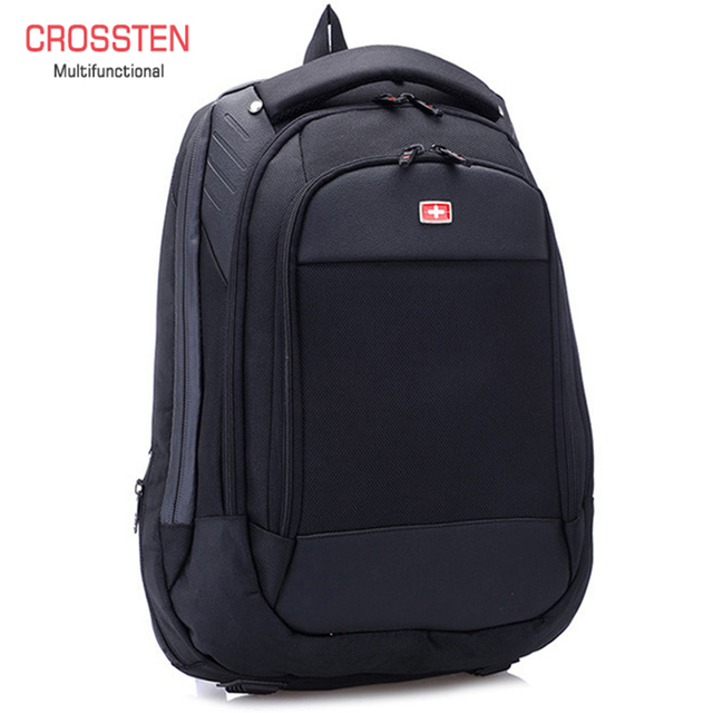"Crossren Multifunctional swiss bags 15"" laptop backpack Schoolbag Luggage Bag Waterproof Urban Rucksack Travel Bag A16"