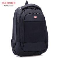 Crossren Multifunctional swiss bags 15 laptop backpack Schoolbag Luggage Bag Waterproof Urban Rucksack Travel Bag A16